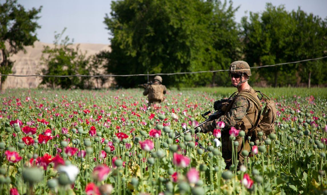 Spoils of Afghanistan War: Opium and Lithium